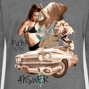 punk is the answer Pullover & Hoodies - Frauen Pullover mit U-Boot-Ausschnitt von Bella
