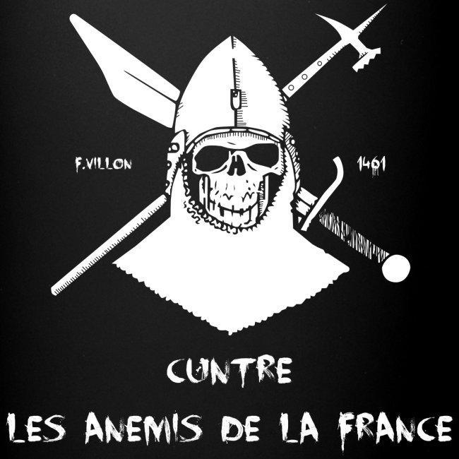 Mug F.Villon Cuntre les Anemis de la France