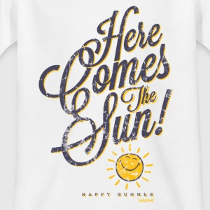 Smiley World Here comes the sun Teenager T-Shirt - Teenager T-Shirt