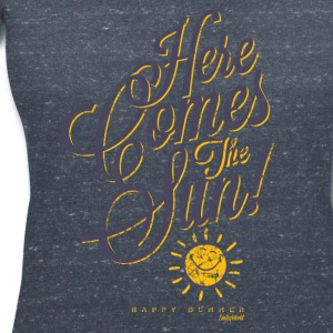 SmileyWorld 'Here comes the sun' women t-shirt - Maglietta da donna scollo a V