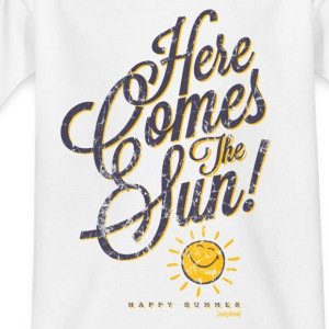 Smiley World Here comes the sun Kinder T-Shirt - Kinder T-Shirt