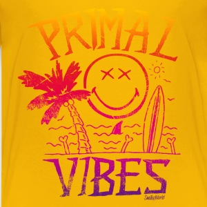 Smiley World Primal Vibes Teenager T-Shirt - Teenager Premium T-Shirt