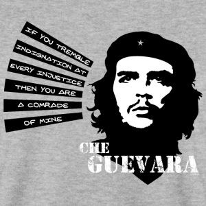 Che Guevara If you tremble with Indignation Män - Männer Pullover
