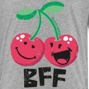 SmileyWorld 'BFF Cherries' teenager t-shirt - Teenager Premium T-shirt