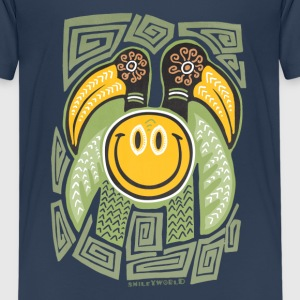 SmileyWorld 'Tiki Surf' teenager t-shirt - Premium T-skjorte for tenåringer