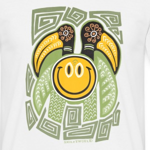 SmileyWorld 'Tiki Surf' men t-shirt - Men's T-Shirt