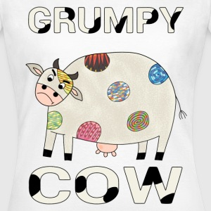 Grumpy cow t-shirt for women - Women's T-Shirt