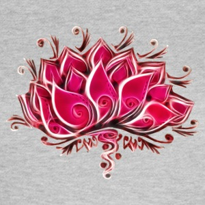 Lotus, Lotusblossom, Lotusflower, Flower, Yoga, OM - Women's T-Shirt