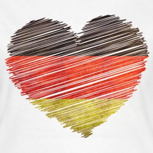allemagne germany drapeau Tee shirts - T-shirt Femme