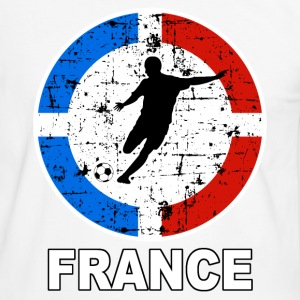 football france 14 Tee shirts - T-shirt contraste Homme