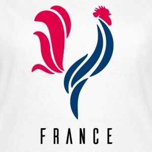 Coq France Football Tee shirts - T-shirt Femme