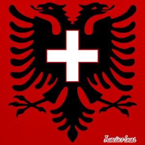 Albania Switzerland Francisco Evans ™ Hoodies & Sweatshirts - Contrast Colour Hoodie