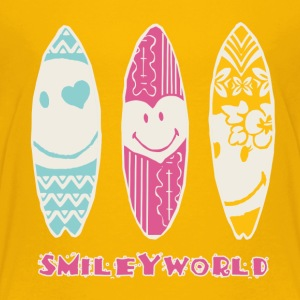 Smiley World 'Surfbretter' Kinder T-Shirt - Kinder Premium T-Shirt