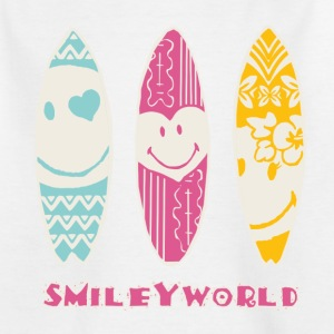 SmileyWorld 'Surfboards' kids t-shirt - Børne-T-shirt