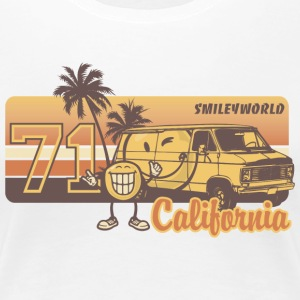 SmileyWorld 'California' women t-shirt - Women's Premium T-Shirt