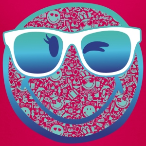 Smiley World Summer Sunglasses Kinder T-Shirt - Kinder Premium T-Shirt