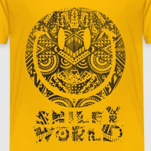 SmileyWorld 'Tiki Surf' kids t-shirt - Børne premium T-shirt