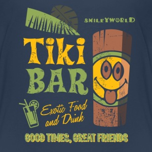 SmileyWorld 'Tiki Bar' teenager t-shirt - Premium T-skjorte for tenåringer
