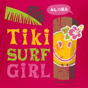 SmileyWorld 'Tiki Surf Girl' kids t-shirt - Premium-T-shirt barn