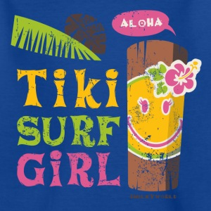 SmileyWorld 'Tiki Surf Girl' kids t-shirt - Børne-T-shirt
