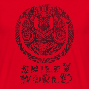 SmileyWorld 'Tiki Surf' men t-shirt - Mannen T-shirt