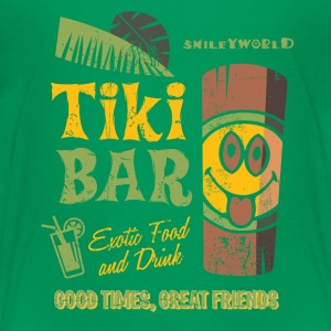 Smiley World Tiki Bar Kinder T-Shirt - Kinder Premium T-Shirt