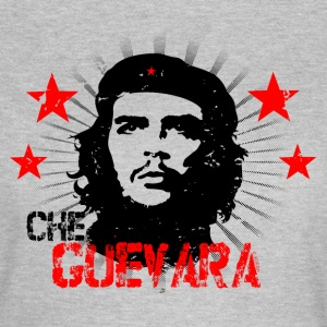 Che Guevara Distressed Women T-Shirt - Dame-T-shirt