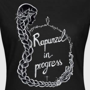 Black Rapunzel T-Shirts - Frauen T-Shirt