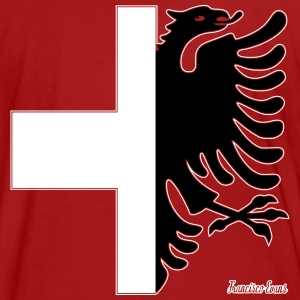 Albania Switzerland Francisco Evans ™ T-Shirts - Men's Organic T-shirt