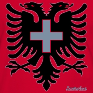 Albania Switzerland Francisco Evans ™ Tee shirts - T-shirt contraste Homme