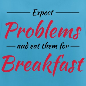 Expect problems and eat them for breakfast Sportbekleidung - Frauen Tank Top atmungsaktiv