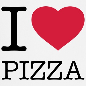 I LOVE PIZZA Delantales - Delantal de cocina