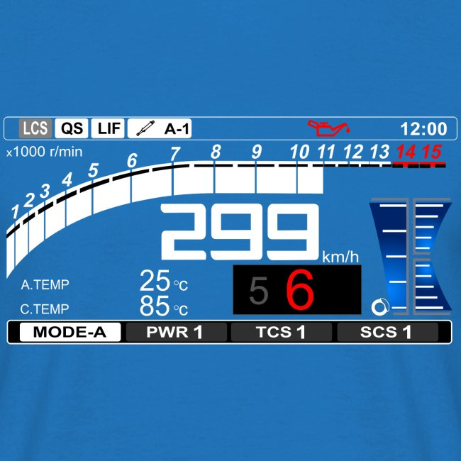 Yamaha Speedometer