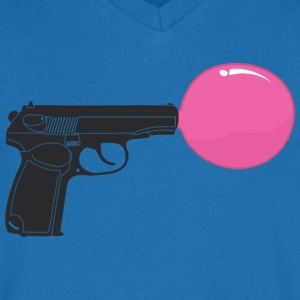 Bubble gun T-Shirts - Men's V-Neck T-Shirt