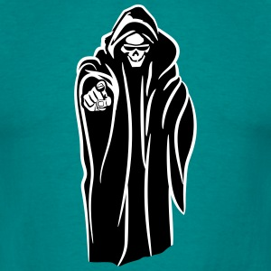Death hooded kwaad zonnebril T-shirts - Mannen T-shirt