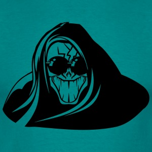 Death hooded kwaad griezelig zonnebril T-shirts - Mannen T-shirt