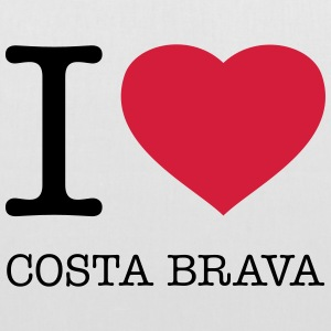 I LOVE COSTA BRAVA - Tote Bag