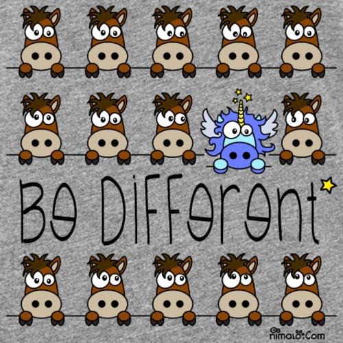 Licorne Bleu & Poneys, Be Different