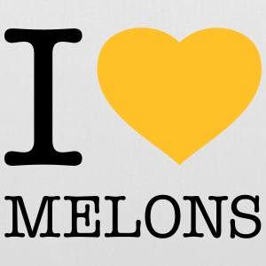 I LOVE MELONS - Tote Bag