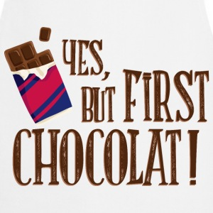 yes_but_first_chocolat_06201602 Schürzen - Kochschürze