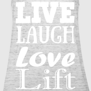 Live,laugh,love, lift Topper - Singlet for kvinner fra Bella