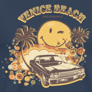 Smiley World 'Venice Beach' Männer T-Shirt - Männer Premium T-Shirt