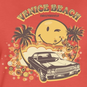 SmileyWorld 'Venice Beach' women t-shirt - Koszulka damska Premium