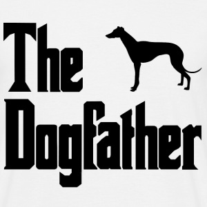 The Dog Father -  Whippet - Men's T-Shirt