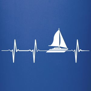 Heartbeat Sailing Mugs & Drinkware - Full Colour Mug