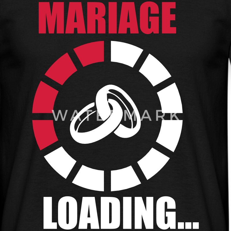 MARIAGE LOADING Tee shirts - T-shirt Homme