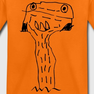 Scribble Monster, kids, children, kindergarten - Kids' Premium T-Shirt