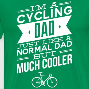 I\\\'m A Cycling Dad... T-Shirts - Men's Premium T-Shirt