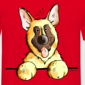 Funny German Shepherd T-Shirts - Men's T-Shirt