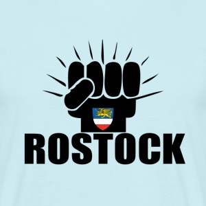 Rostock Power T-Shirts - Männer T-Shirt